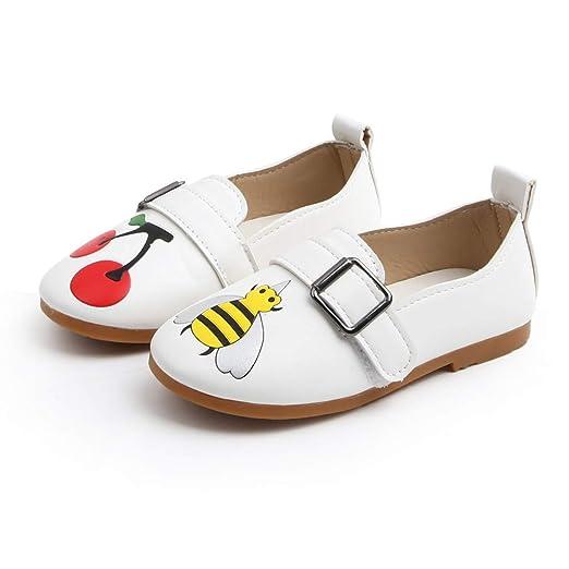 Mealeaf, Zapatillas Informales Blancas para niños y niñas (2 - 11 ...