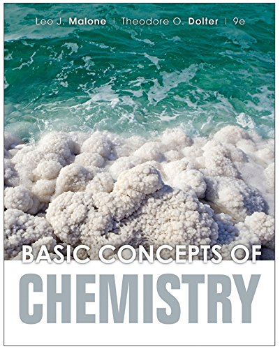 Basic Concepts of Chemistry 9e + WileyPLUS Registration Card