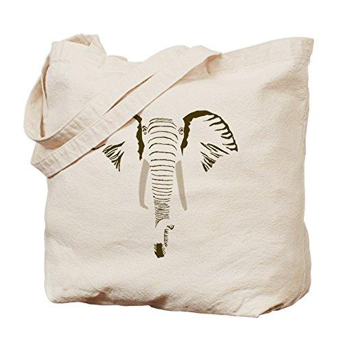 CafePress elefante–Final–Gamuza de bolsa de lona bolsa, bolsa de la compra