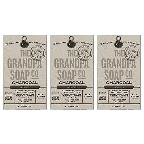Grandpas Soap Co Face Charcoal