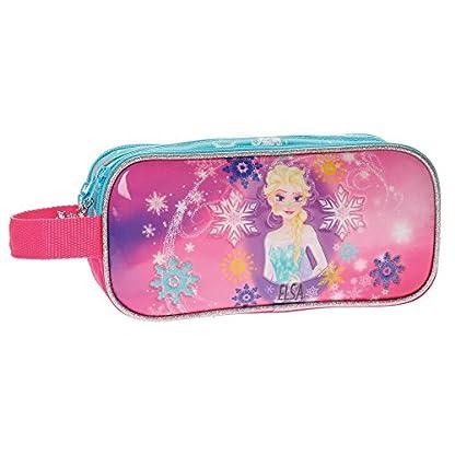 Neceser tres compartimentos Frozen Elsa