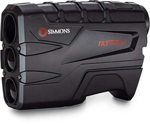Simmons 801600T Volt 600 Laser Rangefinder with Tilt, Black (Best Archery Rangefinder For The Money)