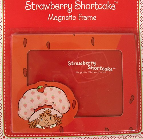 Strawberry Photo Shortcake - American Greetings Red Strawberry Shortcake Magnet Picture Frame - Strawberry Shortcake Picture Frame