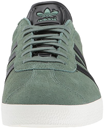 Green Core Black Suede Mens Trace Adidas Gazelle Trainers qwBXSaY1