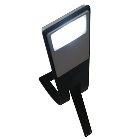 rijtus Book Lights USB Rechargeable Reading Light Clip for Kindle Book Lovers with 4-Grade Brightness