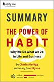 img - for Summary of 'The Power of Habit' by Charles Duhigg. (2 Summaries in 1: In-Depth Summary and Bonus 2-Page PDF.) book / textbook / text book