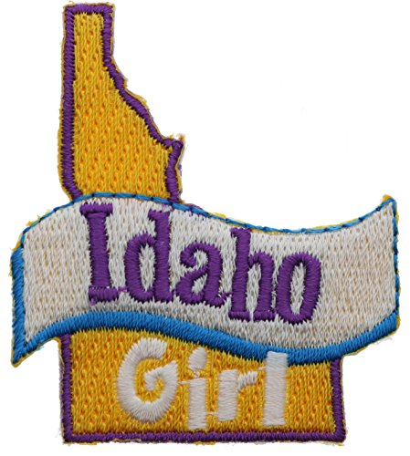 Idaho Girl 2 inch small Iron on Patch Ava2372