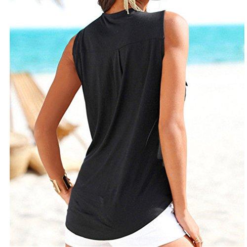 432305ec7d50 Yying 2 en 1 Camisa Mujer Top de Verano Mujeres Camiseta Blusas Con ...