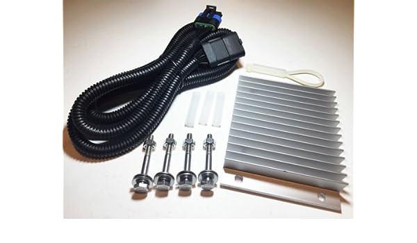 6.5l PMD Relocation Kit 6.5 GM Chevy Diesel FSD Cooler