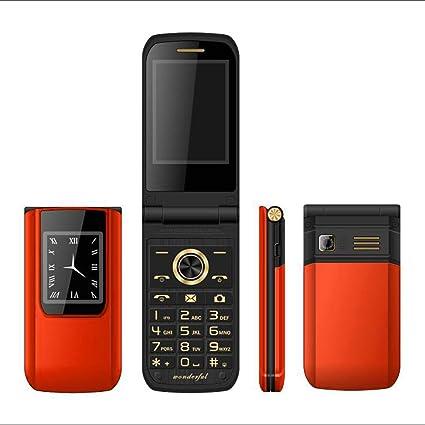 Amazon Com Flip Mobile Phone Dual Sim Card E9 Dual Screen Long