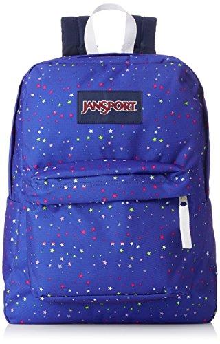 JanSport Unisex Superbreak Classic Ultralight Backpack Scattered Stars by JanSport