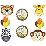 Jungle Safari Welcome Baby Shower Balloon Decoration Kit By Anagram