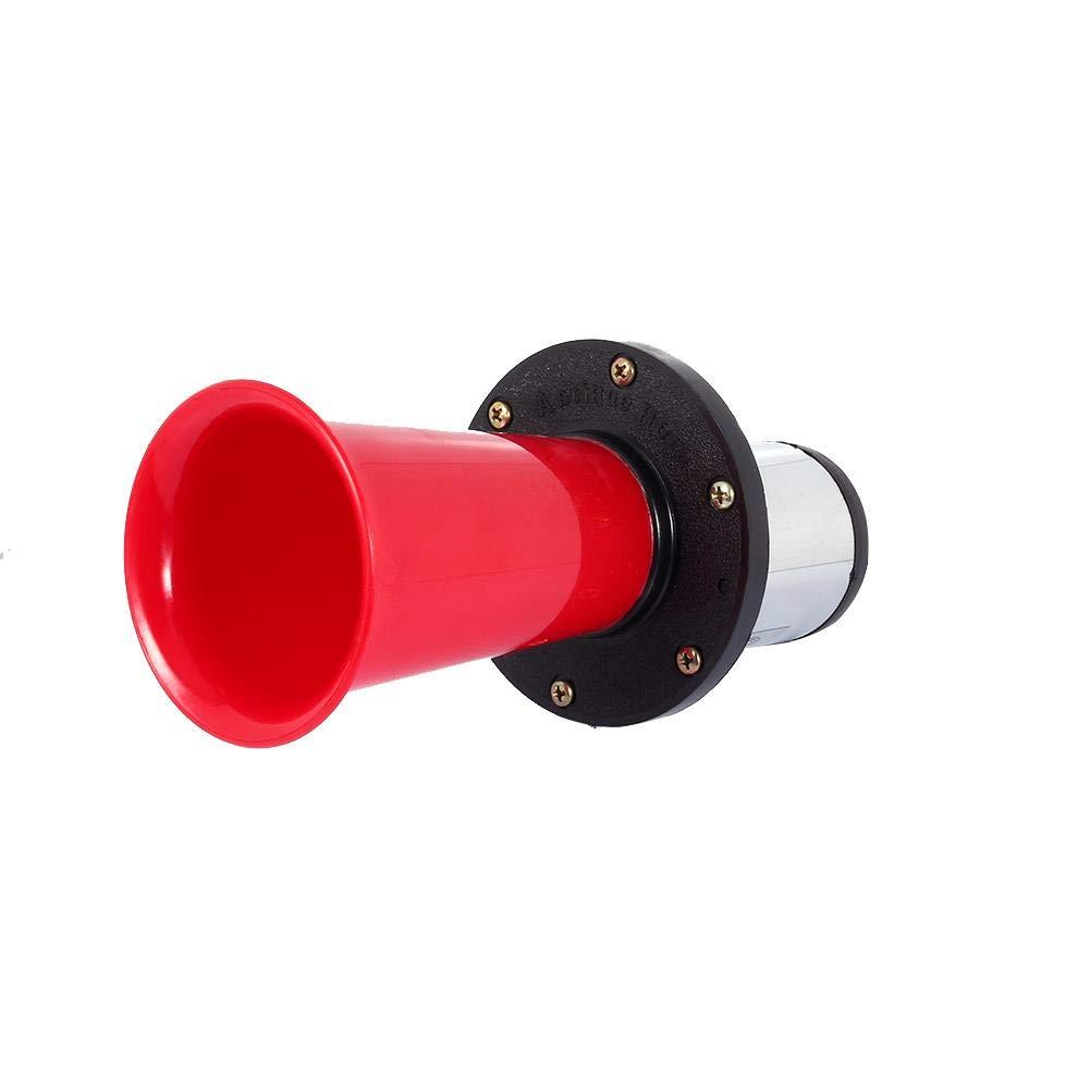 Rosso 12V Keenso 490Hz tromba per auto Klaxon forte clacson antico vintage classico tipo AHH-OOO-GAH AHOOGA OOGA Tromba 110DB vecchio stile