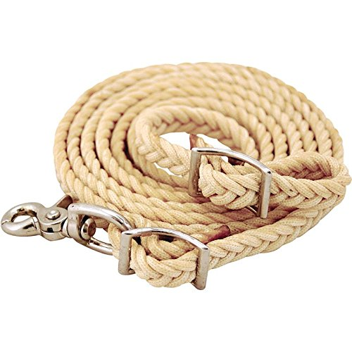 NRS Waxed Nylon Roping Reins 8 ft x 5/8 in ()
