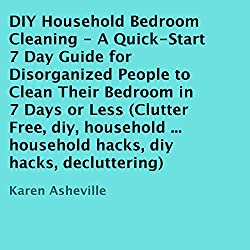 DIY Household Bedroom Cleaning