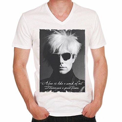 Andy Warhol V:Men's T-shirt picture celebrity 7015047