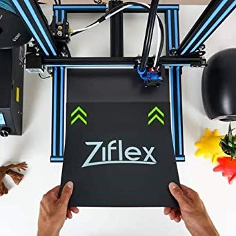 1 Strong Adhesion and Simple Removal Ziflex Flexible Magnetic 3D Printing Platform 120 * 120 mm