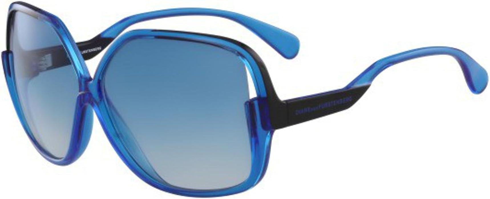 Amazon.com: Sunglasses Diane von Furstenberg DVF 510 S JAYDA ...