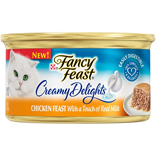 Purina Fancy Feast Creamy Delights Chicken Feast With a Touch of Real Milk Wet Cat Food