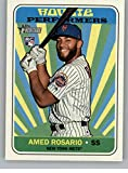 2018 Topps Heritage High Number Rookie Performers #RP-AR Amed Rosario Mets