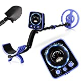 INTEY Metal Detector for Adults and Kids for Amateur Waterproof Adjustable GC-1065 Metal