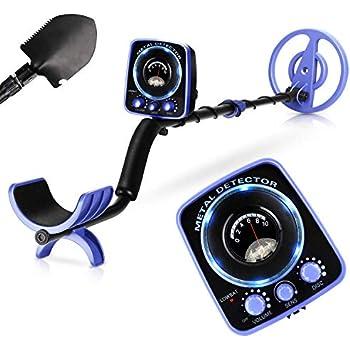 INTEY Upgraded Metal Detector Waterproof for Adults Kids Adjustable(35