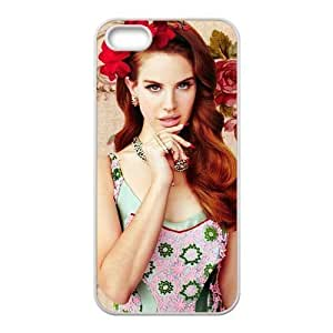 Customiz American Famous Singer Lana Del Rey Back Case for iphone 6 plus 5.5 JN6 plus 5.5-2473 Designed by HnW Accessories