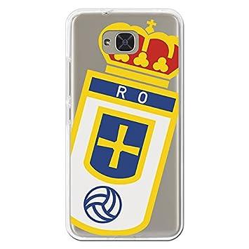 Real Oviedo Carcasa Oficial Escudo Sobre Transparente BQ ...