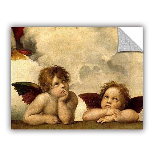 ArtWall Raphael's Cherubs Art Appealz Removable Wall Art Graphic 18X24-Inch