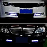 discoGoods-Waterproof-Aluminum-High-Power-9W-6000K-Xenon-Slim-COB-LED-DRL-Daylight-Driving-Fog-Lamp-Daytime-Running-Light-for-All-Vehicles-with-12V-Power