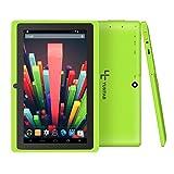 Yuntab 7 inch Quad Core Android Tablet 8G Wifi Bluetooth HD 1024X600 Dual Camera Google Tablet PC (Green)