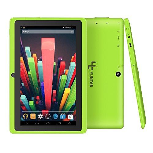 Yuntab Google Tablet 7 Zoll Q88 Android 4.4 Tablet PC Quad-Core Allwinner A33 HD 1024×600 8GB 1.5GHz 1GB Dual Kamera…