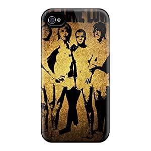 Iphone 4/4s DdL382KBDz Support Personal Customs High Resolution Muse Image Shock Absorption Hard Phone Covers -KellyLast