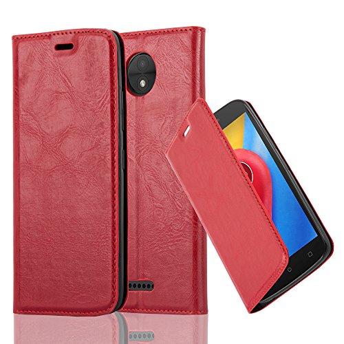 Cadorabo - Funda Book Style Cuero Sintético en Diseño Libro para >                          Lenovo (Motorola) MOTO C                          <