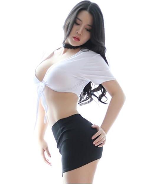 With you Sexy uniforms secretaries