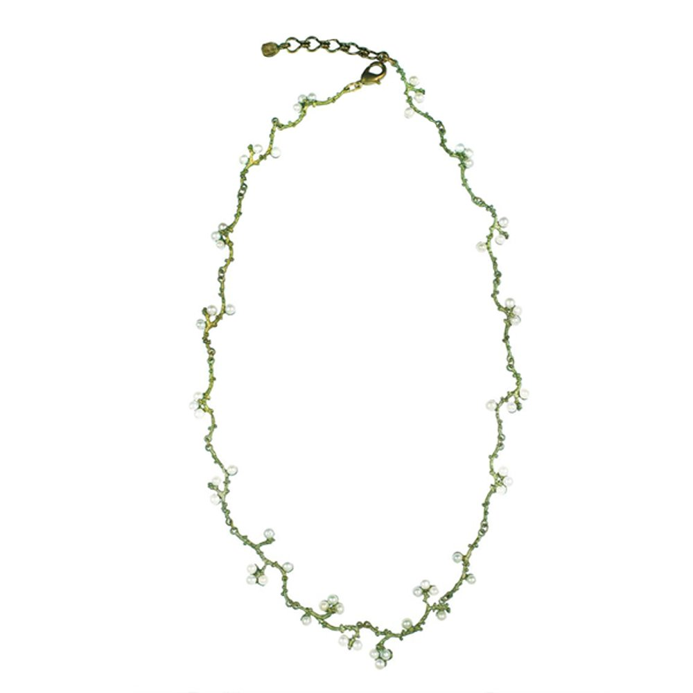''Ume'' Motif Necklace by Michael Michaud for Silver Seasons…