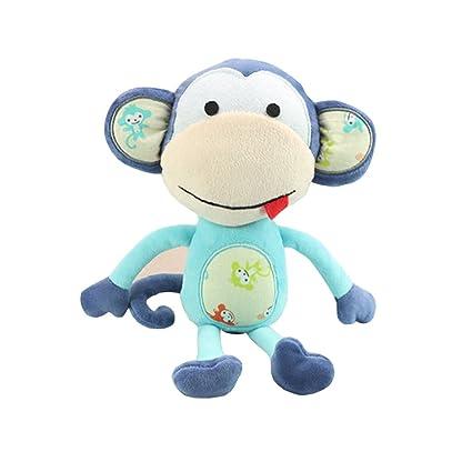wingingkids peluches juguetes para bebés de peluche suave Animal Mono