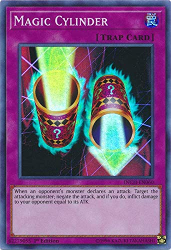 Yu-Gi-Oh! - Magic Cylinder - INCH-EN060 - Super Rare - 1st Edition - Infinity Chasers