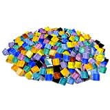 Yarssir Colors Glass Mosaic Tiles Pieces For Craft Home Decoration