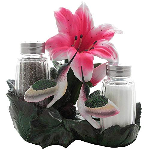 Best Cottage Garden Collections Friends Arts - Hummingbirds Glass Salt and Pepper Shaker
