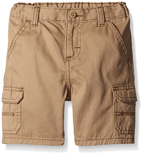 Toddler Boys Cargo Shorts Khaki (Wrangler Authentics Toddler Boys' Toddler Cargo Short, New Khaki, 3T)