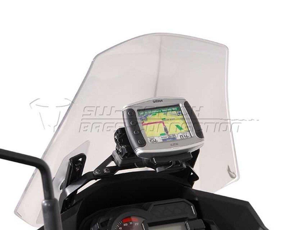Support GPS NAVI Quick Lock Noir, anti-vibrations, Versys 1000, 12- P-W