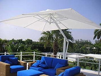 Outdoor Patio Cantilever Umbrella   SUMMER From Poggesi   11u00276 Square    Aluminum Frame