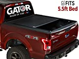 f150 bed cover - Gator Covers 2015-2019 Ford F150 5.5 Bed GATOR Recoil Retractable Tonneau Truck Bed Cover (G30373) (Matte) Made in the USA