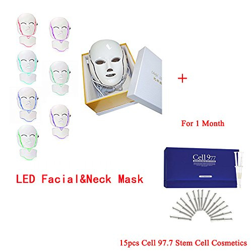 Miss Ammy LED Photon Face&Neck Mask 7 Colors Facial Skin ...