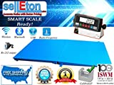 Selleton 60'' X 60'' (5'X5') Floor Scale 1000 X .2 Lb Capacity With A Ramp | Medal Indca.
