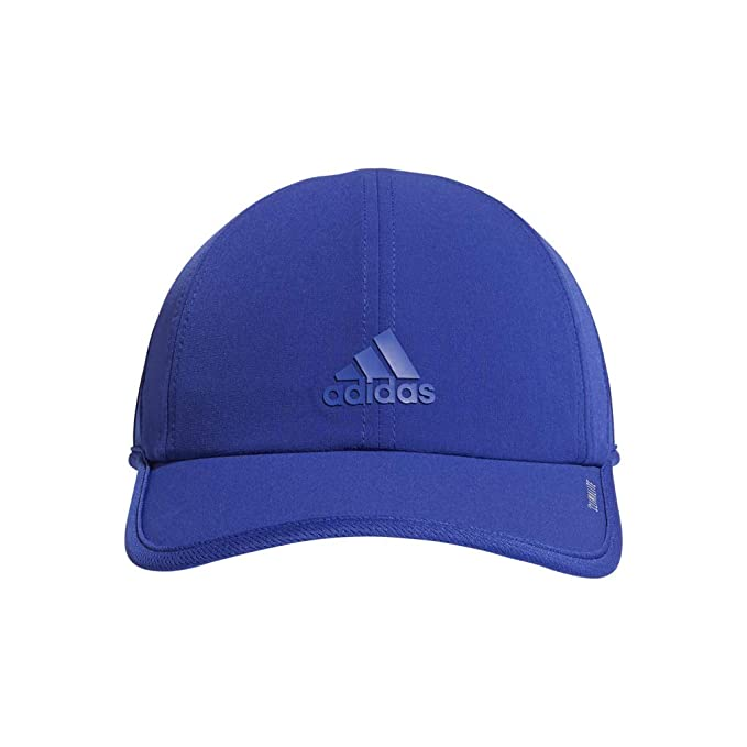 42a954319fb01d adidas Women's Superlite Relaxed Adjustable Performance Cap, Active Blue,  One Size