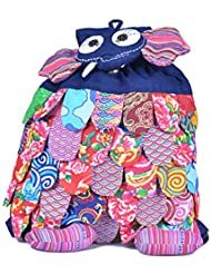 Animals School Backpack For Boys & Girls Cute Laptop Daypacks for Kids by Ms.Camellia