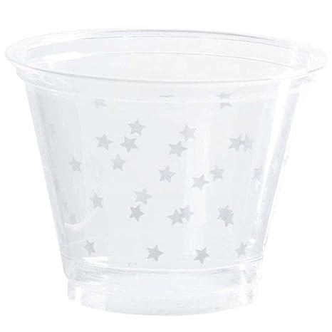 Amazon.com: Vasos de plástico transparente – Pack de 200 ...
