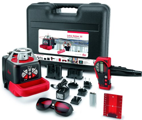 Factory-Reconditioned Leica 765752 Roteo 35 Rotating Laser WMR Package
